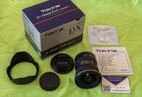 Tokina AF 11-16mm f/2.8 PRO DX II за Canon