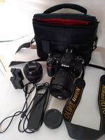 Продавам Nikon D610 с два обектива AF-S DX NIKKOR 18-105mm + Yongnuo 35mm f/2.0