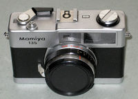 RF camera Mamiya 135 EE w. Mamiya-Secor 2.8/38mm