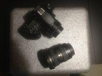 Продавам Canon 60 D + 2 обектива