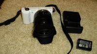 Фотоапарат SONY a5000 с обектив SONY Е 18-55mm3.5-5.6  OSS