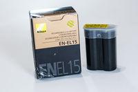 Оригинална батерия Nikon EN-EL 15