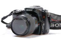 Sony A100 + обектив 18-70
