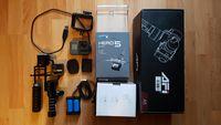 Продавам GoPro hero 5 black + AFI 3-Axis Brushless Gimbal