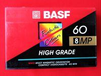 BASF 8MP 60 за 8mm Video Recorders