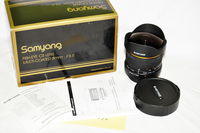 Samyang 8mm fish eye-Sony A