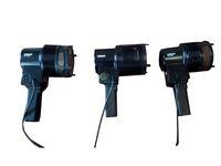 Продавам 3 броя халогенни лампа OSRAM-1000W с вентилатори без крушките