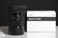 Sigma 20mm Art за Canon