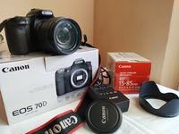Canon 70D + Canon EFS 15-85 IS USM