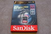 Продавам карта SanDisk 64GB Extreme PRO SDXC