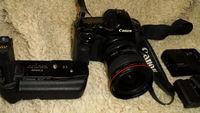 Фотоапарат CANON 5D и грип CANON BG-E4