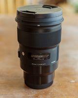 Обектив : Sigma 50mm f/1.4 DG HSM Art за Sony (E-mount)