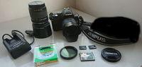 Продавам Фотоапарат Olympus E-410