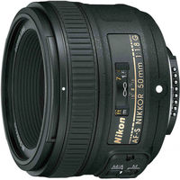Обектив AF-S Nikkor 50mm f/1.8G