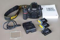 Nikon D800 15 000 Кадъра + 3 Батерий