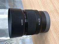 Обектив Sony FE 50mm 1.8