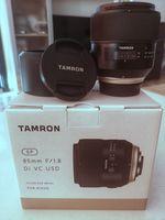 Tamron 85/1.8 Di VC USD Model F016 за Никон