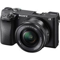 Фотоапарат Sony Alpha A6300 Black тяло + Обектив Sony E PZ 16-50mm f/3.5-5.6 OSS