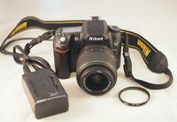 Nikon D80 и Nikkor 18-55 VR - перфектен на 1556 кадъра