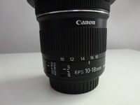 Обектив : Canon EF-S 10-18mm f/4.5-5.6 IS STM