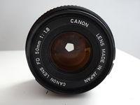 Обектив Canon FD 50 mm 1:1.8