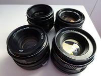 Обективи 50 мм - различни модели