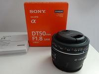 Обектив : Sony DT 50mm f/1.8 SAM