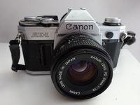 CANON AE-1 с обектив Canon 50 mm 1:1.8
