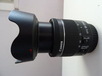 Обектив : Canon EF-S 18-55mm f/4-5.6 IS STM