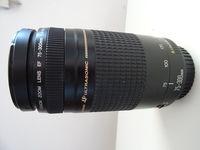 Обектив : Canon EF 75-300mm f/4-5.6 II