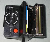 Polaroid 1000S with Flash Polatronic 1