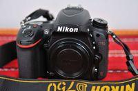 Продавам фотоапарат NIKON D750