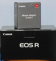 EOS R body + Mount adapter EF-EOS R. Нов на 0 кадъра