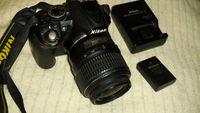 Фотоапарат NIKON D3100 + обектив NIKON 18-55mm AF-S DX VR