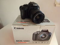 Нов Фотоапарат : Canon 1200D