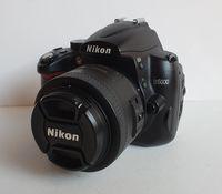 Nikon D5000 с Nikkor 35 mm f1,8G