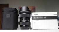 SIGMA (ART) 24-35mm f/2 DG HSM  за Canon с БГ гаранция