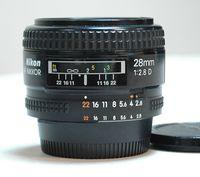 Обектив Nikkor AF-D 28mm f:2.8