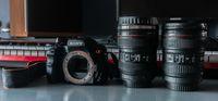 Фотоапарат - SONY A200 + 2 чаши