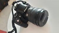 Nikon D3000 + обектив Nikon DX AF-S NIKKOR 18-70mm 1:3.5-4.5G ED