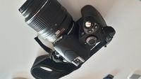 Апарат Nikon D40 + обектив Nikon DX AF-S NIKKOR 18-55mm 1:3.5-5.6G VR + обектив Nikon DX AF-S NIKKOR 55-200mm 1:4-5.6G ED VR