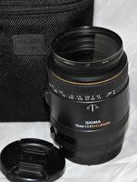 Обектив Sigma 70mm f/2.8 EX DG Macro за Canon