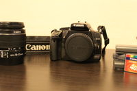 Canon EOS 400D + Canon EF-S 18-55 mm f/3.5-5.6 IS ||