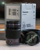 Panasonic Lumix G X Vario 35-100mm f/2.8 ASPH. POWER O.I.S.