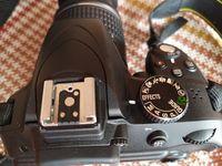 Nikon D 3300, обектив AF-P 18-55, адаптер WU-a1 за прехвърляне