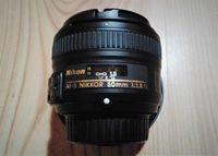Обектив AF-S Nikkor 50mm f-1.8G
