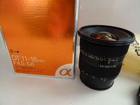 Обектив : Sony DT 11-18mm f/4.5-5.6