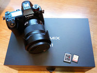 Panasonic Lumix S1 + обектив Panasonic S 24-105mm f/4 + 240gb XQD