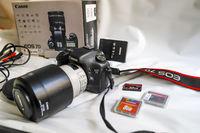 Canon 7d + Canon EF 50 mm f/1.8 II + сенник и 5 филтри и калъф за филтри