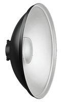 55 см Beauty Dish рефлектор със сребриста повърхност